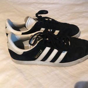 Adidas Gazelle black, size 7